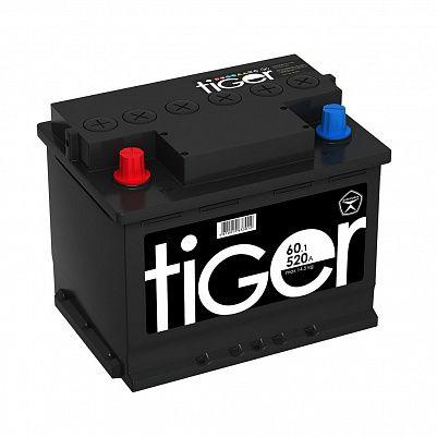 Автомобильный аккумулятор Tiger Аком 60.1 пр. фото 401x401