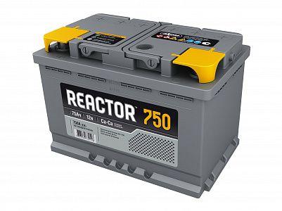 Автомобильный аккумулятор Reactor 75.0 фото 401x300
