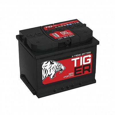 Автомобильный аккумулятор Tiger Xtreme (Тюмень) 55.1 пр фото 401x401