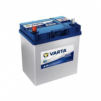 Автомобильный аккумулятор Varta A15 Blue Dynamic (540 127 033) 40Ah фото 401x401