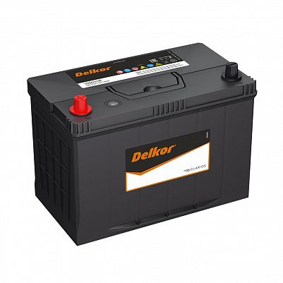 Автомобильный аккумулятор DELKOR 105D31R (90) пр фото 401x401