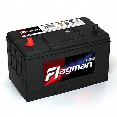 Автомобильный аккумулятор Flagman 115D31R (100) фото 401x401