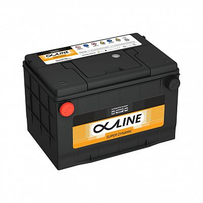 Автомобильный аккумулятор AlphaLINE SD 78-750 (D26) бок фото 401x401