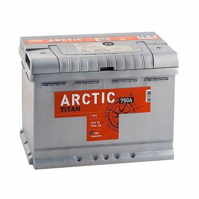 Автомобильный аккумулятор Titan ARCTIC 75.0 фото 401x401