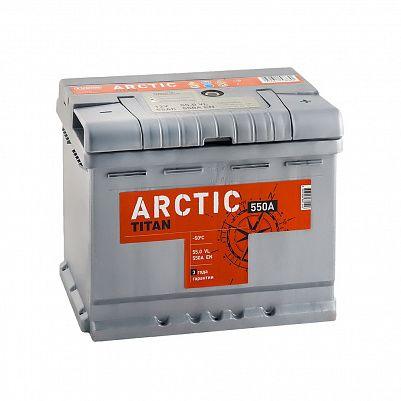 Автомобильный аккумулятор Titan ARCTIC 55.0 фото 401x401