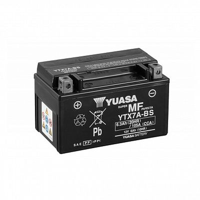 Мото YUASA MF YTX7A-BS (CP) фото 401x401