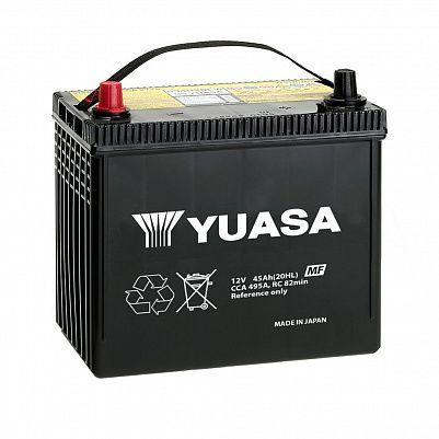 Автомобильный аккумулятор YUASA MF Black Edition 80D23R (65) фото 401x401