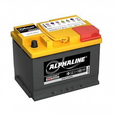 Автомобильный аккумулятор AlphaLINE AGM 60.0 L2 (AX 56020) 60Ah фото 401x401