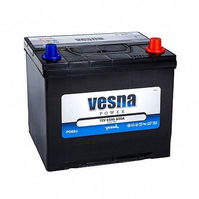 Автомобильный аккумулятор VESNA Power 65 (D23L) фото 401x401