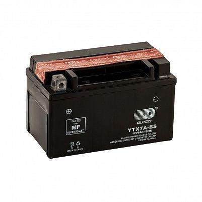 Мото аккумулятор 6Ah OUTDO YTX7A-BS black (7Ah) фото 401x401