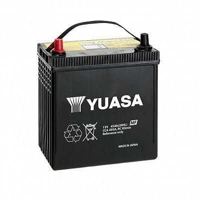 Автомобильный аккумулятор YUASA MF Black Edition 80D23L (65) фото 401x401