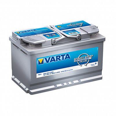 Автомобильный аккумулятор Varta F21 Silver Dynamic AGM Start-Stop Plus (580 901 080) 80Ah фото 401x401