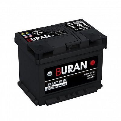 Автомобильный аккумулятор BURAN EFB 65.0 фото 401x401