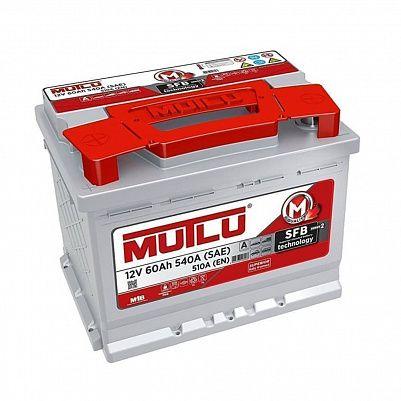 Автомобильный аккумулятор Mutlu SFB 3 (L2.60.054.B) 60 Ач прямая полярность фото 401x401