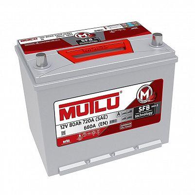 Автомобильный аккумулятор Mutlu 80 (95D26FR) фото 401x401