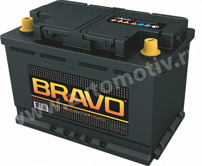 Автомобильный аккумулятор Bravo 74.1 фото 401x330