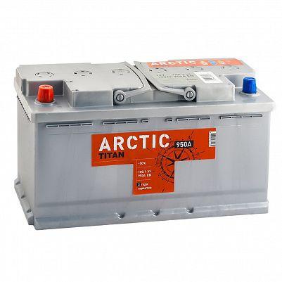 Автомобильный аккумулятор Titan ARCTIC 100.1 фото 401x401