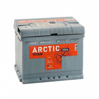 Автомобильный аккумулятор Titan ARCTIC 55.1 фото 401x401
