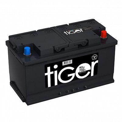 Автомобильный аккумулятор Tiger Аком 90.0 обр. фото 401x401