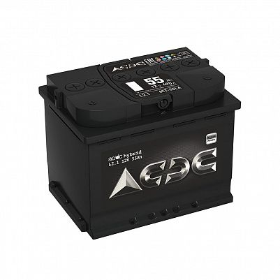 Автомобильный аккумулятор AC/DC Hybrid (Тюмень) 55.1 фото 401x401