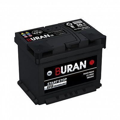 Автомобильный аккумулятор BURAN EFB 60.1 фото 401x401