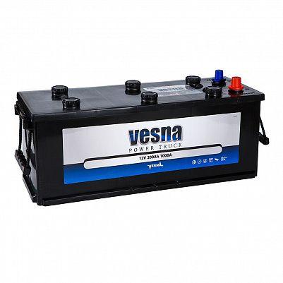 Аккумулятор для грузовиков VESNA Power Truck 200.3 евро фото 401x401
