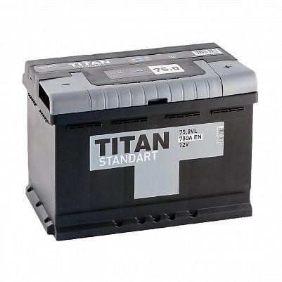 Автомобильный аккумулятор TITAN Standart 75.0 фото 401x401