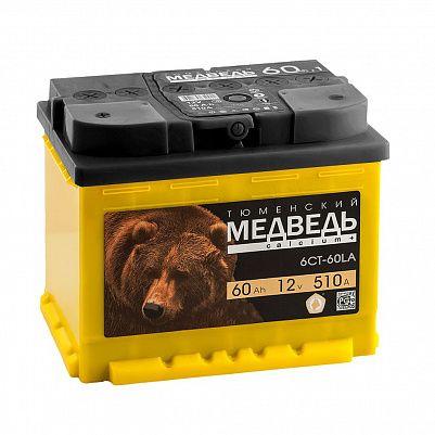 Автомобильный аккумулятор Тюменский Медведь 60.1 фото 401x401