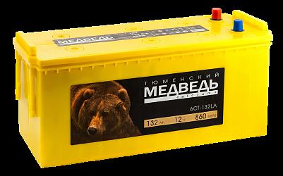 Аккумулятор для грузовиков Тюменский Медведь 132.4 фото 401x250