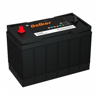 Аккумулятор для грузовиков DELKOR 31-1000 уни конус фото 401x401
