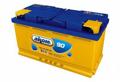 Автомобильный аккумулятор Аком 90.1 фото 401x273