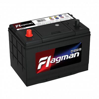 Автомобильный аккумулятор Flagman 100D26R (80) фото 401x401