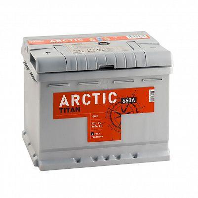 Автомобильный аккумулятор Titan ARCTIC 62.1 фото 401x401