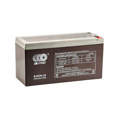 Аккумулятор OUTDO VRLA 16v  24Ah (8-DZM-20) фото 401x401