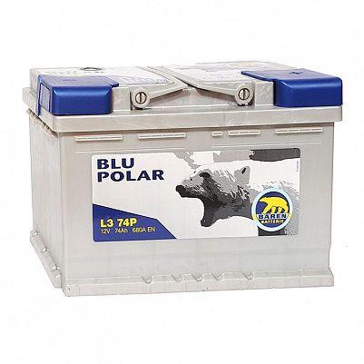 Автомобильный аккумулятор Baren Polar Blu 74.1 L3 фото 401x401