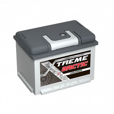 Автомобильный аккумулятор X-treme Arctic 63.0 фото 401x401