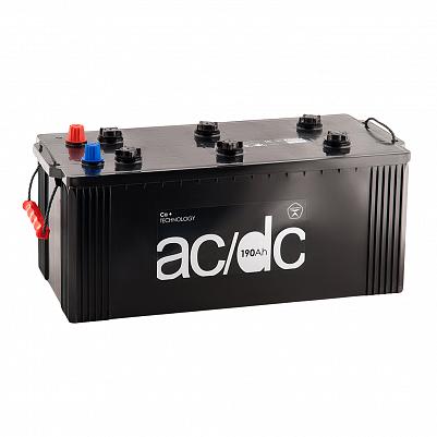 Аккумулятор для грузовиков AC/DC 190.3 узкий евро фото 401x401
