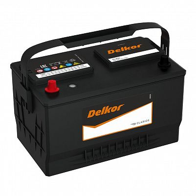 Автомобильный аккумулятор DELKOR Euro 85.1 (65-850) шир фото 401x401