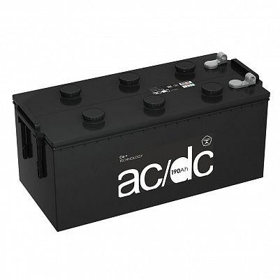 Аккумулятор для грузовиков AC/DC (Рязань) 190.4 узкий, клемма под фото 401x401