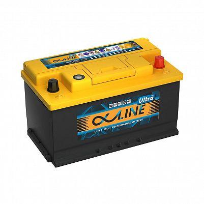 Автомобильный аккумулятор AlphaLine Ultra 80.0 Ач (UMF58000) LB4 фото 401x401