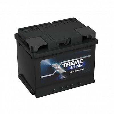 Автомобильный аккумулятор X-treme SILVER 62.0 фото 401x401