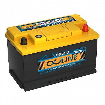 Автомобильный аккумулятор AlphaLine Ultra 90.0 Ач (UMF59000) L4 фото 401x401