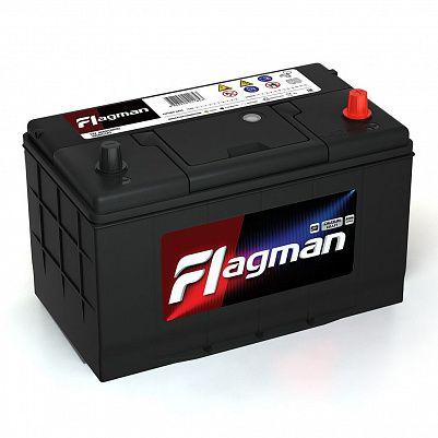Автомобильный аккумулятор Flagman 115D31L (100) фото 401x401