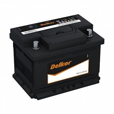 Автомобильный аккумулятор DELKOR Euro 60.1 L2 (56031) фото 401x401