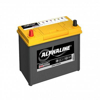 Автомобильный аккумулятор ALPHALINE AGM AX B24R 45Ah фото 401x401