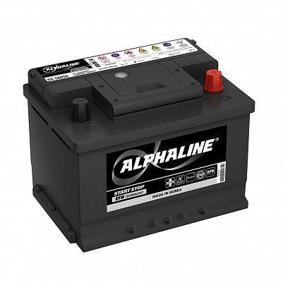 Автомобильный аккумулятор AlphaLine EFB 60Ач (SE 56010) фото 401x401