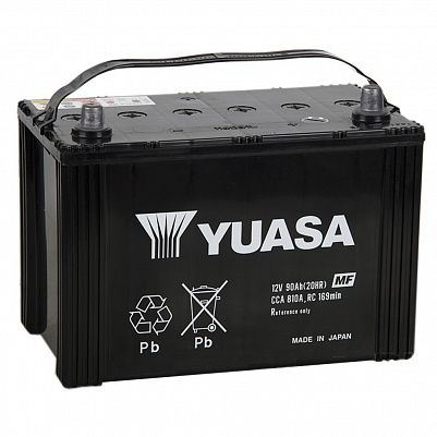 Автомобильный аккумулятор YUASA MF Black Edition 115D31R (90) фото 401x401