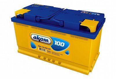 Автомобильный аккумулятор Аком 100.0 фото 401x273