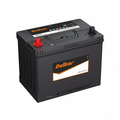Автомобильный аккумулятор DELKOR 80D26R (75) пр фото 401x401