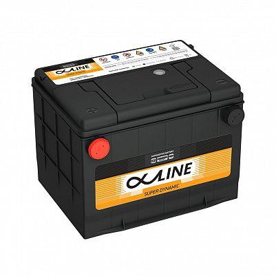 Автомобильный аккумулятор AlphaLine Super Dynamic 80 Ач (MF75-650) D23 боковые клеммы фото 401x401
